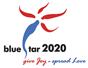 BlueStar 2020 – Charity Walk Logo